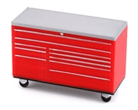Scale By Chris 1/24 Classic Roll Around Tool Box (Red)