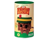 Slinky Science Poof Slinky 075L 75Pc Frontier Logs Bldng St.in Canister