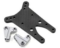 ST Racing Concepts 4mm Graphite Front Shock Tower w/Aluminum Standoff (Gun Metal)