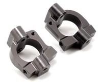 ST Racing Concepts Aluminum HD Caster Block Set (Gun Metal) (2) (Team Associated SC10 4x4)