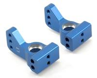 ST Racing Concepts ALUMINUM VLA 1 DEG REAR HUB CARRIERS XXX-SCT (2) BLUE (Losi XXX-SCB)