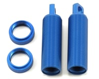 ST Racing Concepts ALUMINUM THREADED FRONT SHOCK BODIES (2) FOR XXX-SCT (BLUE) (Losi XXX-SCB)