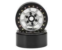 SSD RC Trail 1.9 Steel Beadlock Crawler Wheels (Silver) (2)