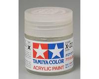 Tamiya X-22 Clear Gloss Acrylic Paint (23ml)