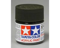 Tamiya XF-62 Flat Olive Drab Acrylic Paint (23ml)