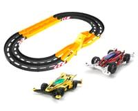 Tamiya 1/32 Mini JR Oval Home Circuit w/2-Level Lane Change & Cars
