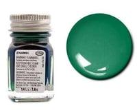 Testors Enamel 1/4 oz Metal Flake Green