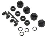Tekno RC ET410.2 EB410/ET410 Shock/Cartridge Cap & Bushing Set (4)