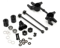Tekno RC M6 Driveshaft & Steering Block Set (Front, 6mm)