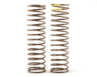 Tekno RC EB48.3 Low Frequency 85mm Rear Shock Spring Set (Yellow - 2.59lb/in)