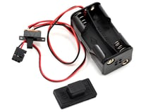 """Traxxas Nitro Stampede 4-Cell """"AA"""" Battery Holder w/Switch Cover"""