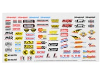 Traxxas 4-Tec 3.0 Racing Sponsors Decal Sheet