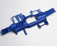 Traxxas Revo Chassis (3mm 6061 T-6 aluminum) (anodized blue)