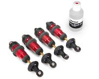 Traxxas Aluminum GTR Shock Set (Red) (4)