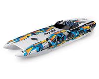 "Traxxas DCB M41 Widebody 40"" Catamaran High Performance 6S Race Boat (Orange)"