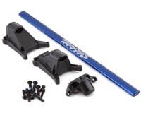 Traxxas Rustler 4x4 Rustler/Slash LCG Chassis Brace Kit (Blue)