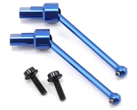 Traxxas LaTrax 1/18 Teton Aluminum Front/Rear Driveshaft (2) (Blue)