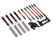 Traxxas TRX-4 Complete Long Arm Lift Kit (Red)