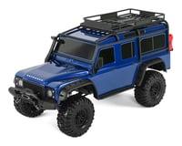 Traxxas TRX-4 1/10 Scale Trail Rock Crawler w/Land Rover Defender Body (Blue)