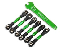 Traxxas 4-Tec 3.0 Aluminum Turnbuckles (Green)
