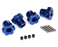 Traxxas Maxx 17mm Splined Wheel Hub Hex (Blue) (4)
