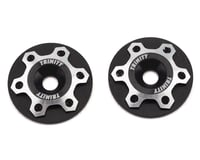 Trinity 1/10 Universal Wing Mount Button (Black) (2) (S-Workz S12-1MR)
