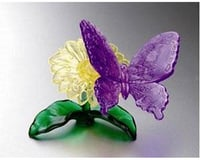 University Games Corp Bepuzzled 30943 3D Crystal Puzzle - Butterfly