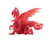 University Games Corp Original 3D Deluxe Crystal Dragon Puzzle (56 Piece), Red