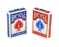 United States Playing Card Company Bicycle 1001512 Poker Size Standard Index Playing Cards (Blue or Red)