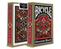 United States Playing Card Company Bicycle 1025004 Dragon Back Playing Cards, Gold