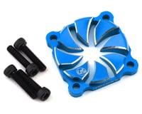 Usukani Aluminum Dissilent Fan Cover (Yokomo Blue)