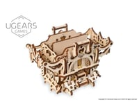 UGears Deck Box Wooden 3D Model Kit