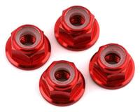 V-Force Designs M4 Flanged Lock Nuts (Red) (4) (DragRace Concepts DRC1 Drag Pak)