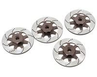 Vaterra V100S 12mm Aluminum Hex/Brake Rotor Set (4)