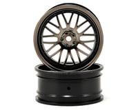 Vaterra 12mm Hex 54x26mm Front Deep Mesh Wheel (2) (Matte Gun)