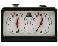 Wood Expressions 769811 Royal Crest Analog Chess Clock/Timer by Wood Expressions