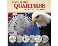 Whitman Coins State Quarters Collector Map