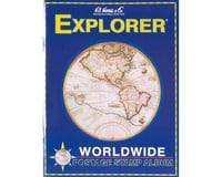 Whitman Coins 4HRS1 Explorer Worldwide Stamp Album Kit