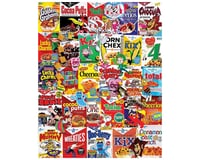 White Mountain Puzzles 1261PZ Cereal Boxes 1000pcs