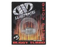 Werks #5 Turbo Glow Plug (Hot) (Off-Road) (Werks Racing .21 B5)