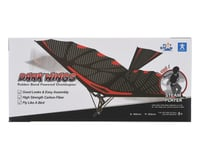 PlaySTEAM Iron Bird II Rubber Band Plane Ornithopter (Dark Wings)