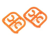 Xray 3.5mm Plastic Drive Pin Clips (4) (Orange) (XRAY T4 2014)
