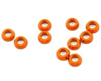 XRAY XB8 2017 3x6x2.0mm Aluminum Conical Shim (Orange) (10)
