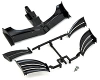 XRAY X1 2019 2018 ETS Composite Adjustable Front Wing (Black)