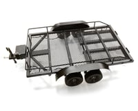 Xtra Speed 1/10 Heavy Duty Dual Axle Scale Miniature Trailer Kit (24 Inches)