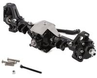 Xtra Speed Axial SCX10 II Complete Aluminum Hi-Lift Front Portal Axle Set (Black)