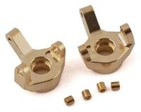 Yeah Racing SCX24 Brass Front Steering Knuckles