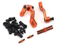 Yeah Racing HPI Sprint 2 Aluminum Big Angle Steering Kit (Orange)