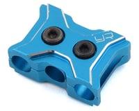 Yeah Racing Aluminum 12-14 Gauge Wire Clamp (Blue)