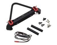 Yeah Racing Aluminum Front Stinger Bumper w/LED Light (Black)